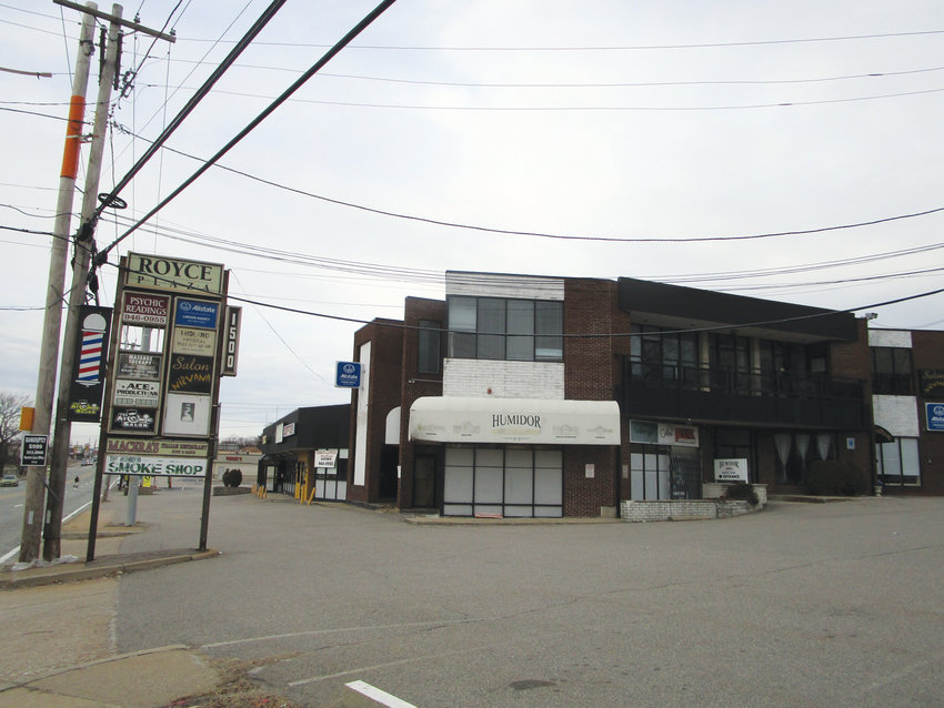 CLEARING THE WAY: Existing structures – including commercial buildings and three homes – on land situated between Oaklawn Avenue, Bateman Avenue and Catherine Street would be cleared to make way for a proposed new commercial development.