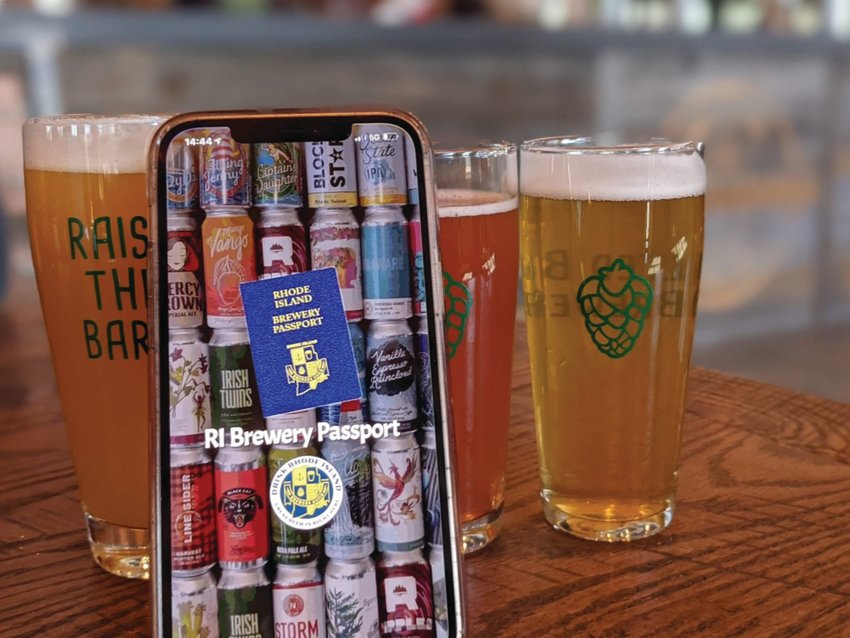 MOBILE GUIDE: The Brewery Passport app helps people discover new local breweries and plan routes to visit multiple spots. It's a helpful way to keep track of where you've been.