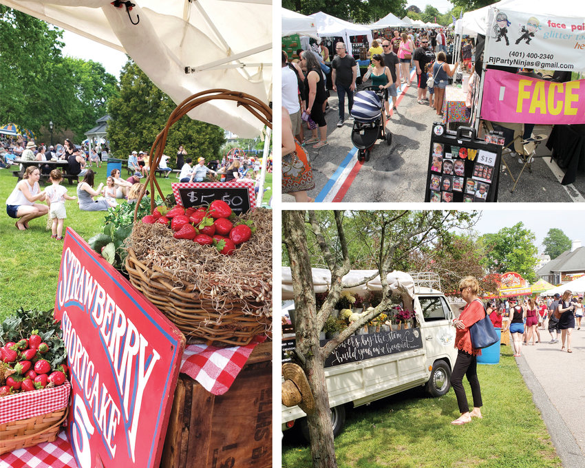 CELEBRATING HISTORY: The Gaspee Days Arts & Crafts Festival, typically held Memorial Day weekend, will instead take place in September this year. In 2022, Gaspee Days marks its 250th anniversary.