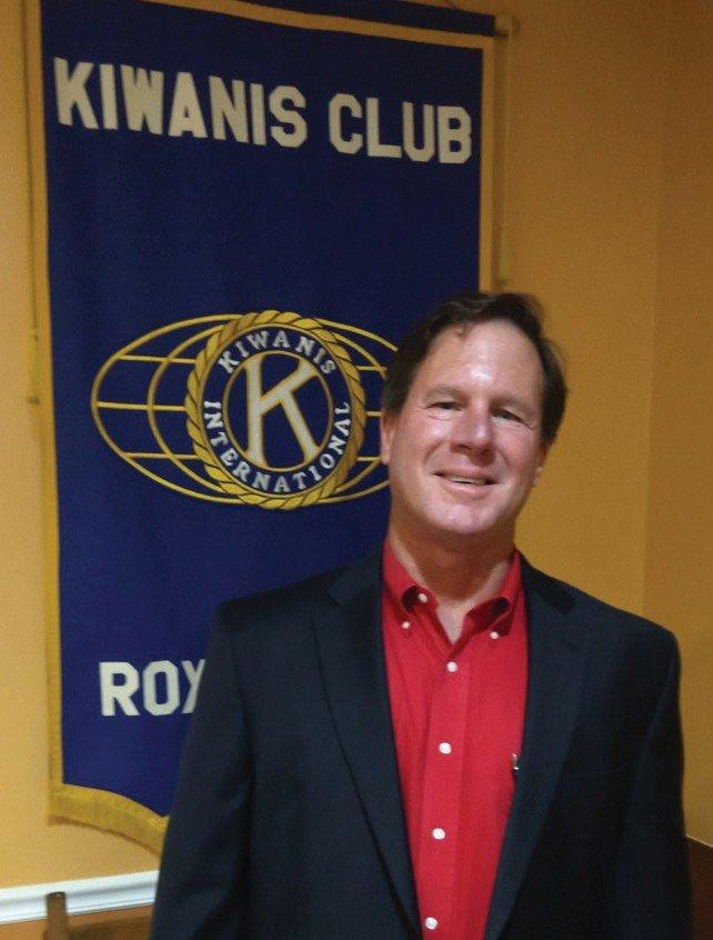 N.C. Rep. Larry Yarborough addressed the Kiwanis Club.