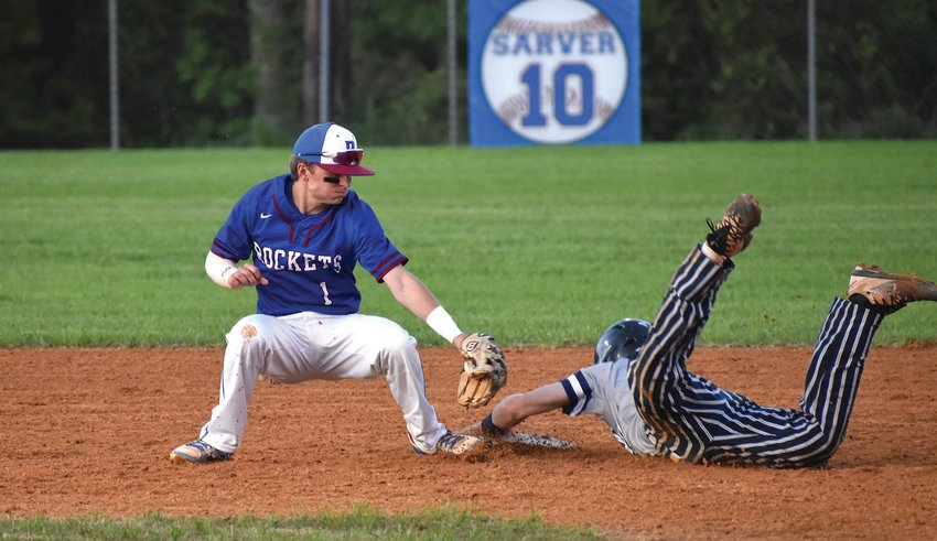 Person High School baseball player Casey Nichols was an All-Conference and All-Tournament selection by Mid- State Conference coaches.