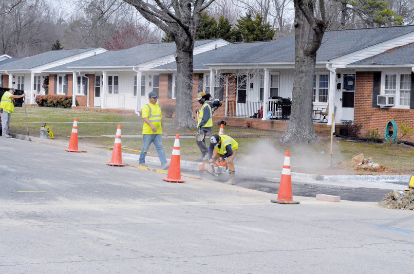 Crews begin construction of the roundabout at the intersection of Morgan Street and Long Avenue. According to Field Supervisor Juan Fracica the project is expected to last for two weeks.