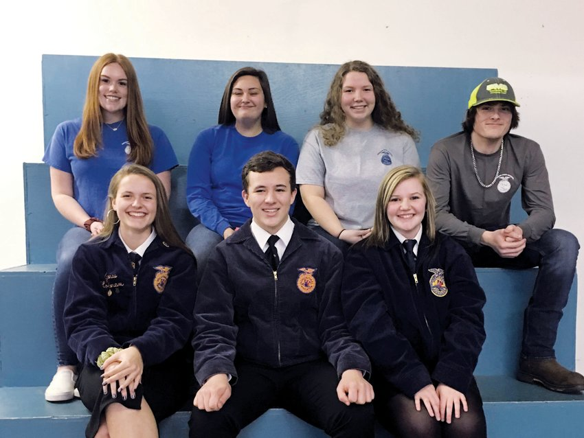Abby Porterfield | The Rock.Members of the Person High School FFA earned awards at the Kerr Federation Career Development Leadership Events in Roxboro last week.