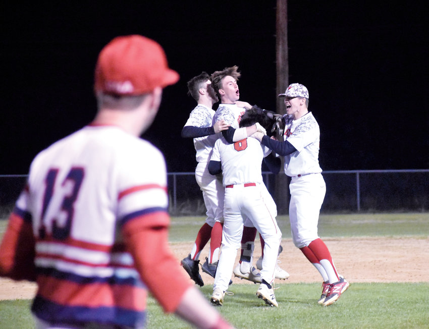 Kelly Snow | The Courier-Times.Roxboro Community School catcher Josh Wade goes all out to try to make the play on a bunt that was popped up in the second inning of Wednesday's game against Voyager Academy..