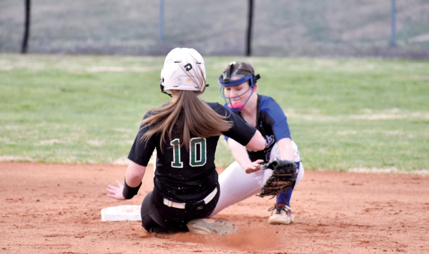 Kelly Snow | The Courier-Times.The Person softball team qualified for the state playoffs and faced West Brunswick in the first round Tuesday.