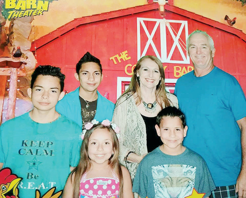 The Sprinkle family enjoys going on summer vacation including trips to places like The Comedy Barn in Pigeon Forge, Tenn.