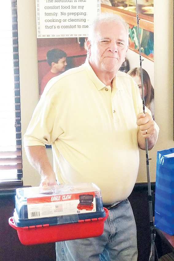 Tim Rogers retires from Roxboro Roses Store after 43 years service with the company, and is going fishing!