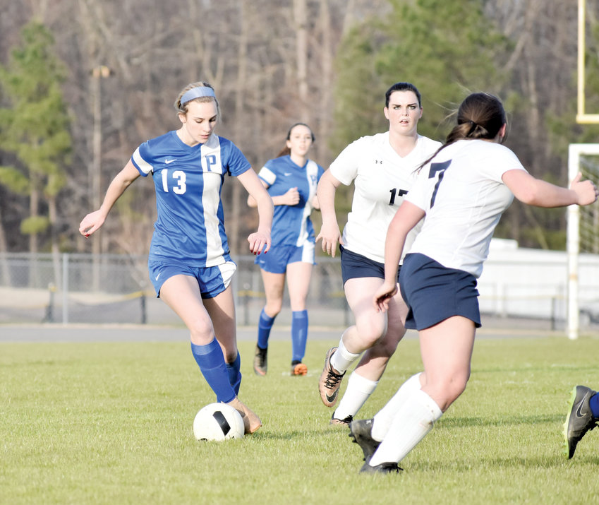 Kelly Snow | The Courier-Times.Person soccer player Abby Mayer was an all Mid-State conference selection after scoring 31 goals in her junior season.