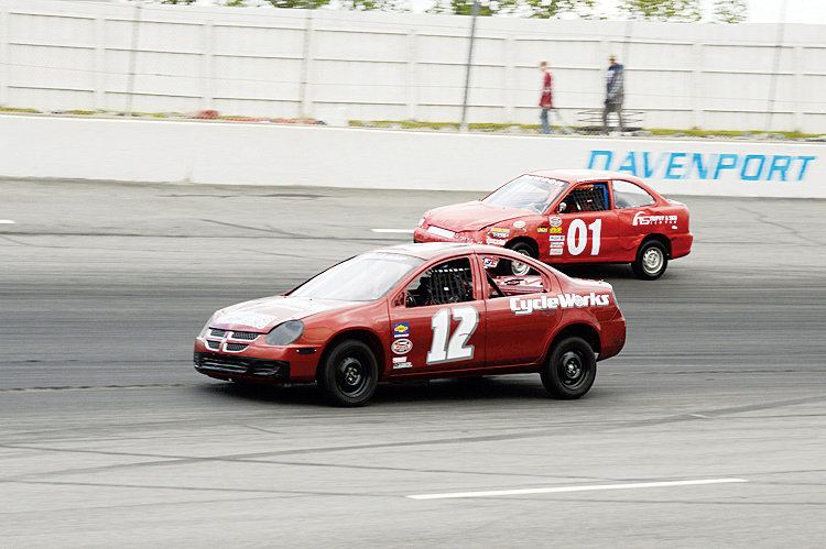 Photo courtesy of South Boston Speedway.It has been a year of learning behind the wheel for Andrea Ruotolo (12).