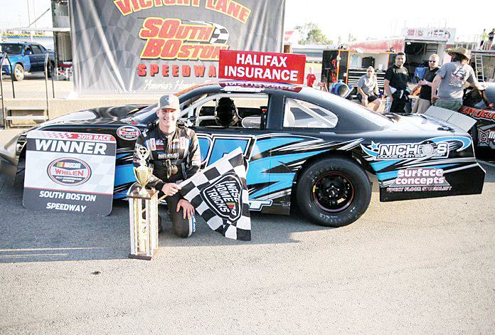 Photo courtesy of South Boston Speedway.Teenager Jacob Borst has visited victory lane twice at South Boston Speedway this season.