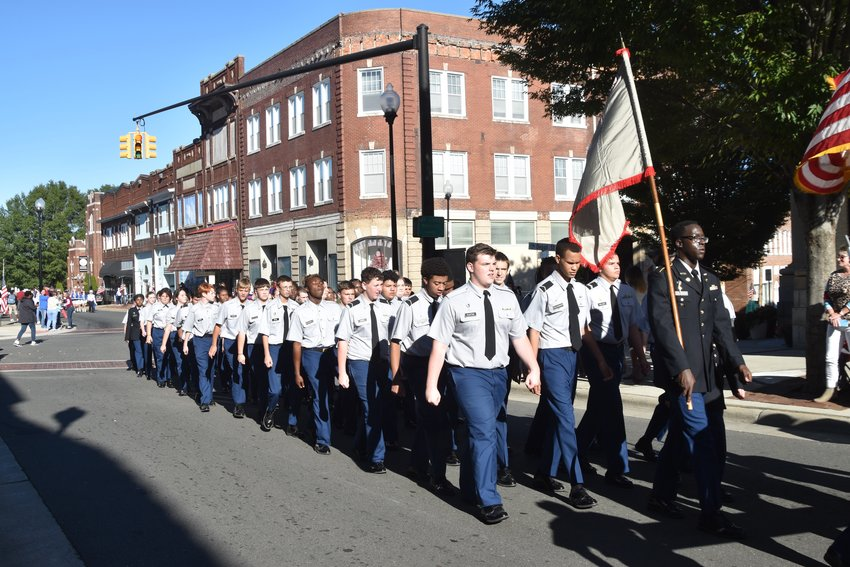 Person High School students enjoyed the annual homecoming parade down Main Street Friday afternoon.