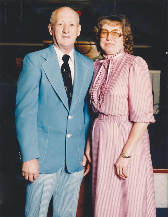 Lawrence Garner Carver and Marie Wilson Carver will celebrate their 65th wedding anniversary Nov. 13.