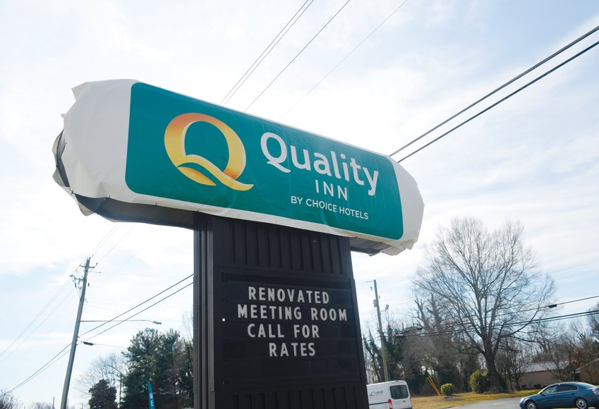 The Innkeeper in Roxboro has been rebranded as a Quality Inn as of Monday under the ownership of Roxboro Hospitality, LLC.