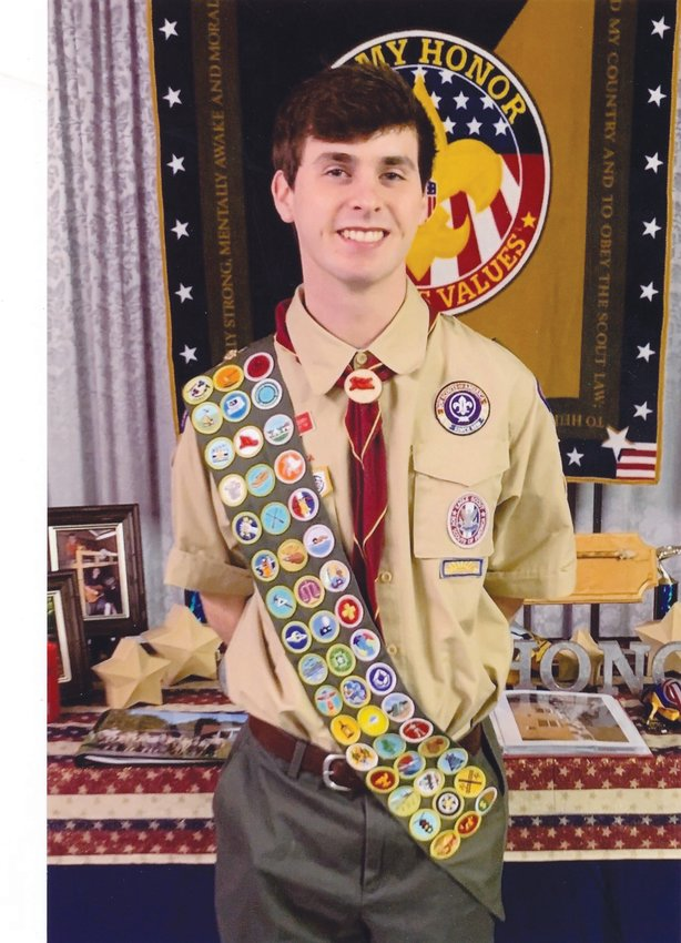 Benjamin Jackson Gregory is now an Eagle Scout.