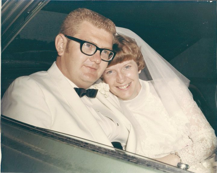 Herman and Joyce Gentry were married June 14, 1970.