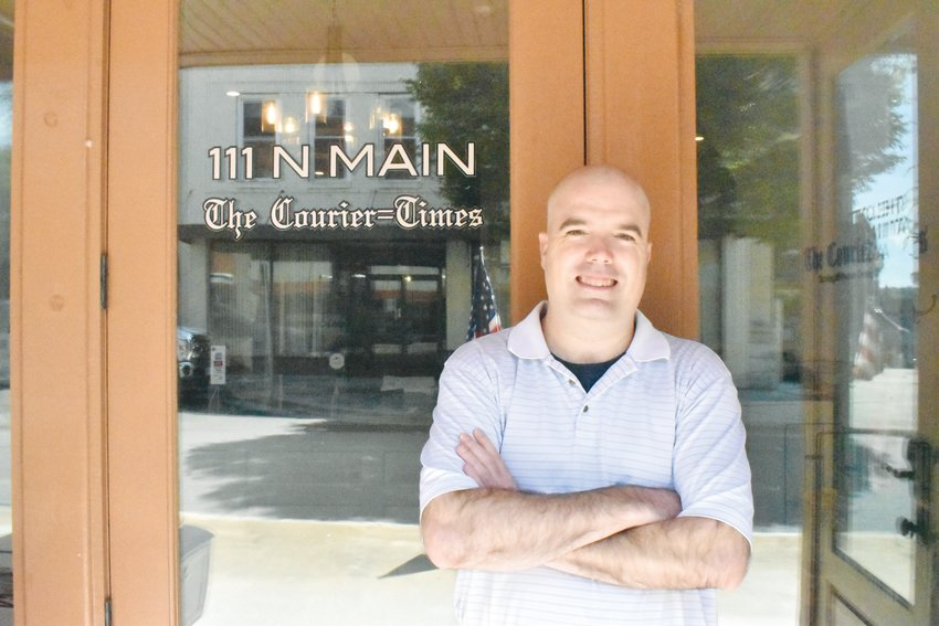 Kelly Snow is the Courier-Times' new editor and publisher.