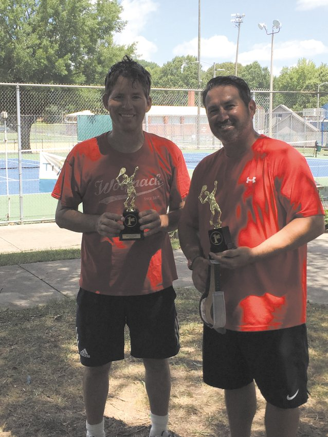 Harrison and Chapman teamed up to take gold in the Men's Open Doubles division.