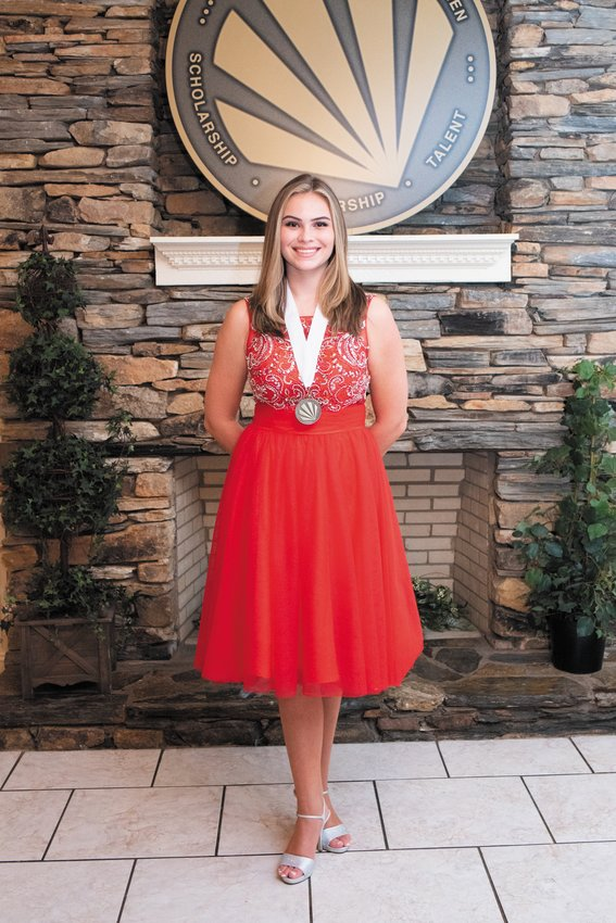 Katie Waldo was selected as this year's winner at the Roxboro Distinguished Young Women's program. The program was recorded Tuesday evening and showed via YouTube Saturday night. Waldo will be representing Roxboro in the North Carolina Distinguished Young Women's program in January..