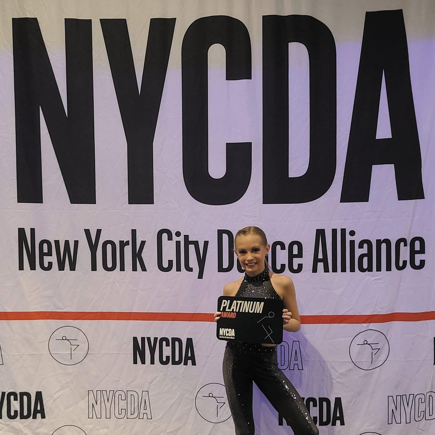 Roxboro Community School student Zoey Rochefort recently attended the New York City Dance Alliance convention and competition.