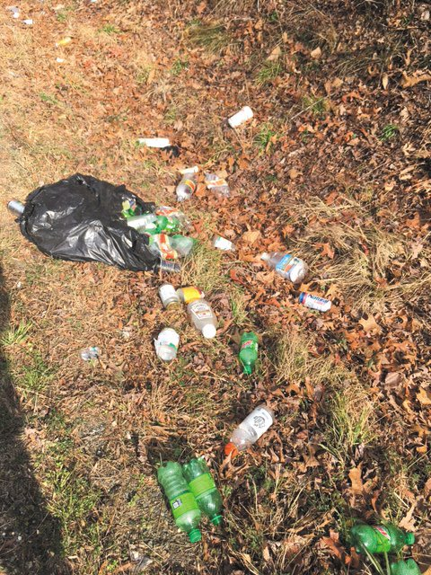 Littering disfigures the roadways of Person County.
