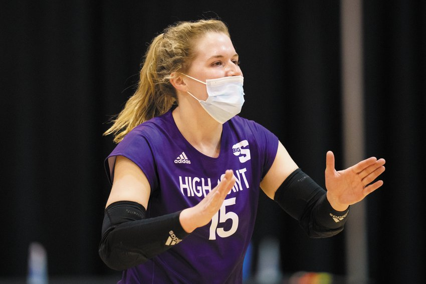 Roxboro Community School volleyball alum Mackenzi Thornburg helped High Point University win its first-ever NCAA tournament game in program history, a five-set thriller in the opening round over the University of Central Florida.