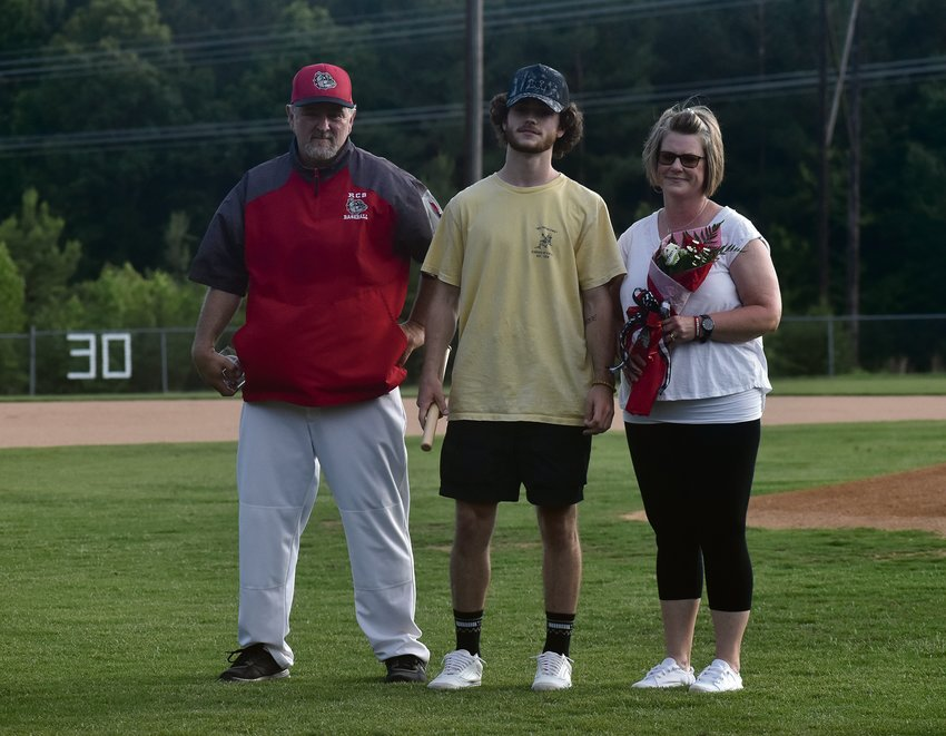 Former Roxboro Community School baseball player and Class of 2020 graduate Michael Clayton, second from left, passed away in a car accident on Monday night in Timberlake. Clayton was known as someone who would go to war for any of his teammates.