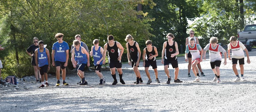 Thursday's meet at Mayo Lake Park was the season-opener for both RCS and Person. Nate Stovall finished in second place to lead the RCS men's team, while Brennan Kiser's fourth-place result led Person.