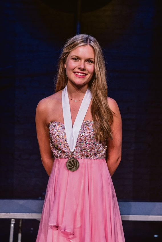 Andelyn Briggs was the winner of the 2022 Distinguished Young Women's program Saturday at the Kirby Theater.