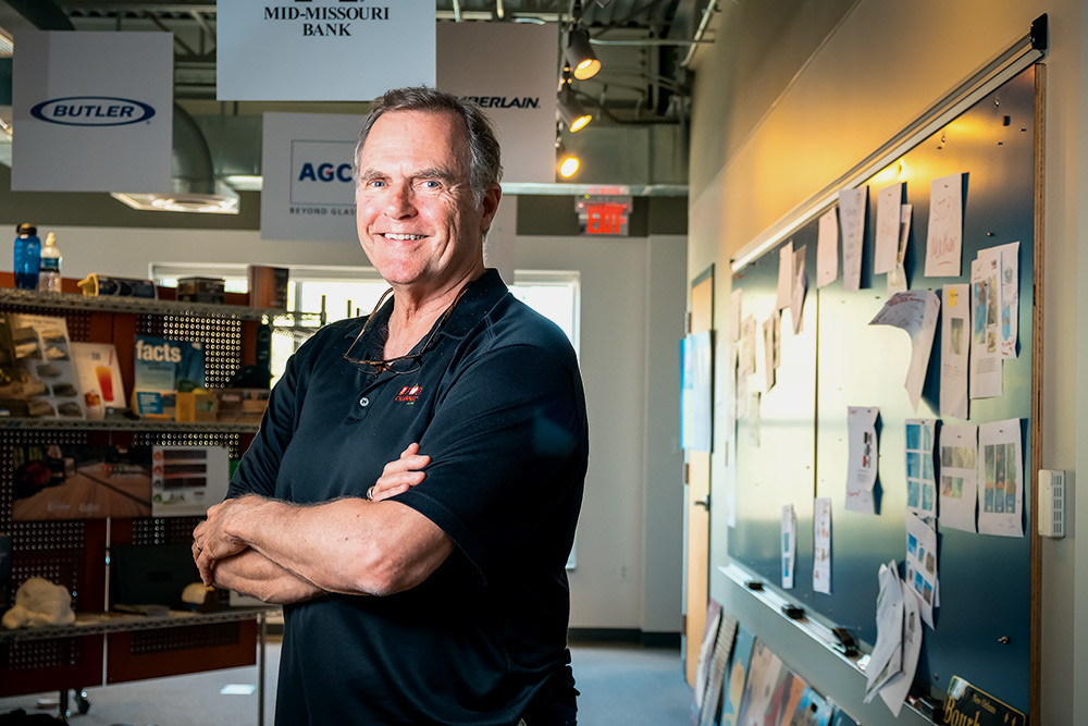 FOOD FIRST: Bob Noble relinquishes the office he ran for decades, but he's keeping the test kitchens and food advertising services he most enjoys.