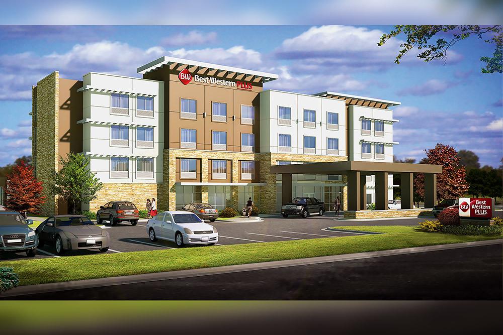 The 61-room Best Western Plus Vineyard Hotel and Suites is coming to Bolivar south of Southwest Baptist University.