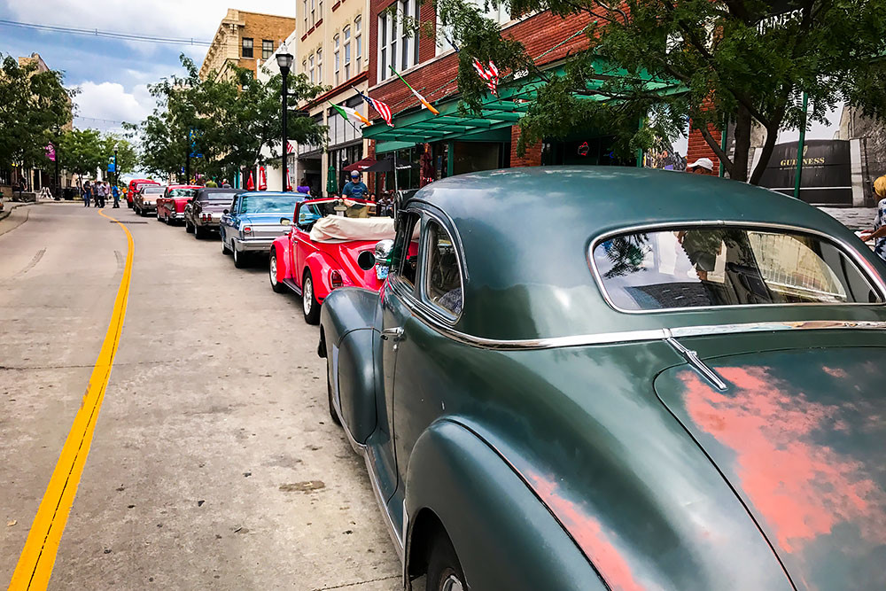 An estimated 53,000 attendees visited the Birthplace of Route 66 Festival this weekend.