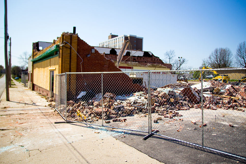 The Housing Authority of Springfield plans to convert the former Downtown Market property into its administrative offices. The market was demolished earlier this year.