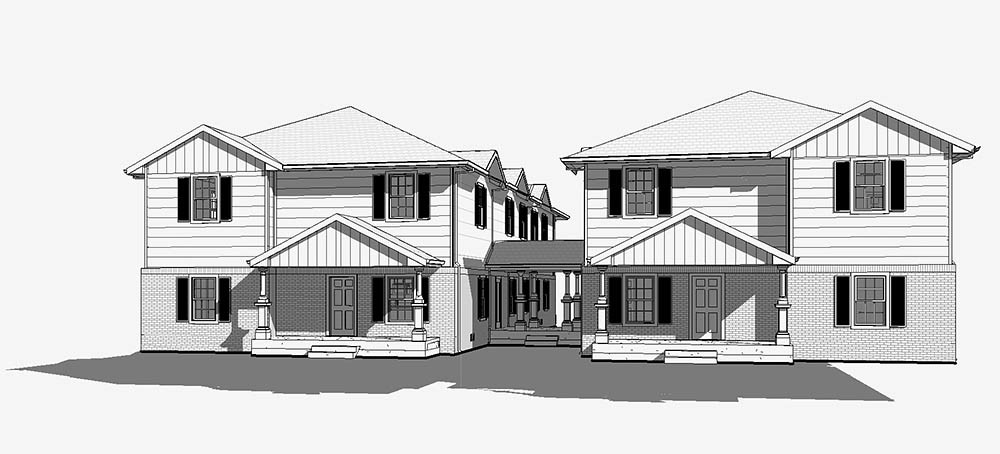 BYE BYE BLIGHT: Roza Homes' plans for the redevelopment of two East Cherry Street properties were approved 5-3. Two six-unit buildings are on the way.