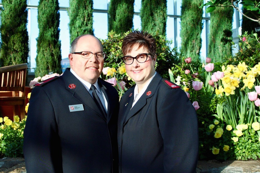 Majors Butch and Lisa Frost are the new leaders of Salvation Army-Springfield.