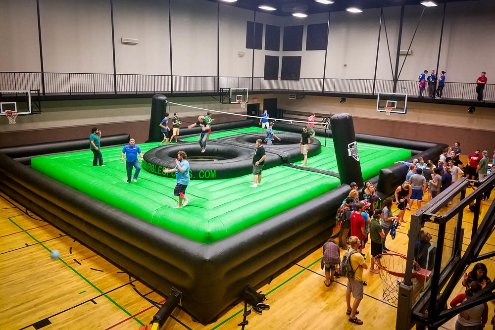 BOSSABALL IS BACK: Ultimate Bubble Sports is again offering bossaball after a legal threat.
