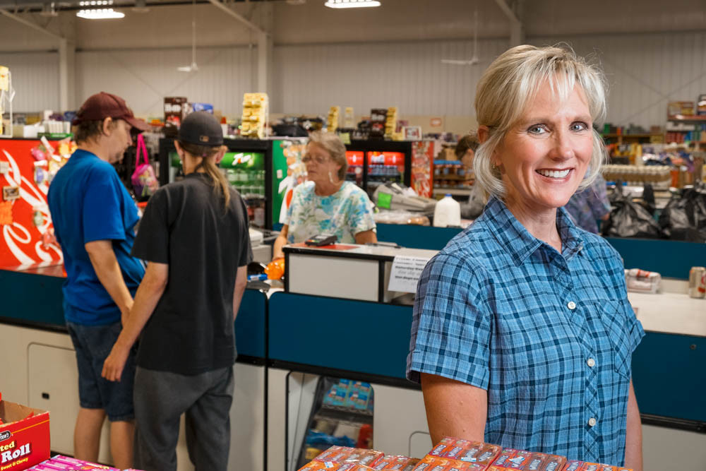 HUNGRY FOR PROFITS: A SNAP participant for nearly 38 years, Nancy Heape's discount grocery store in northwest Springfield generates a fifth of its sales through the federal program.