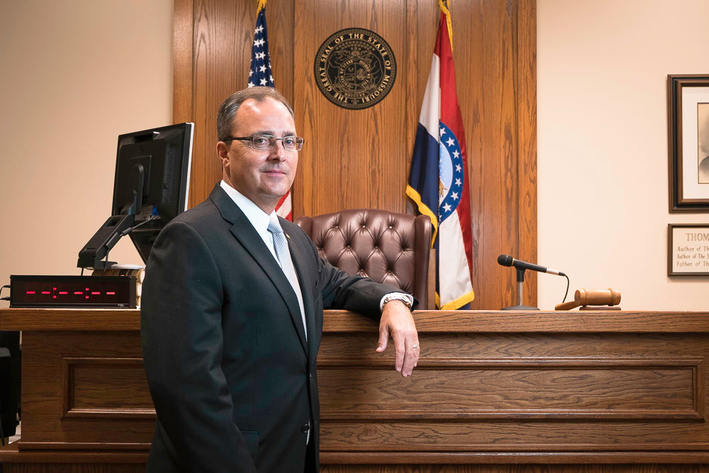 DONNING THE ROBES: New Greene County Judge Jerry Harmison Jr. is exiting the firm he co-founded in 2003.