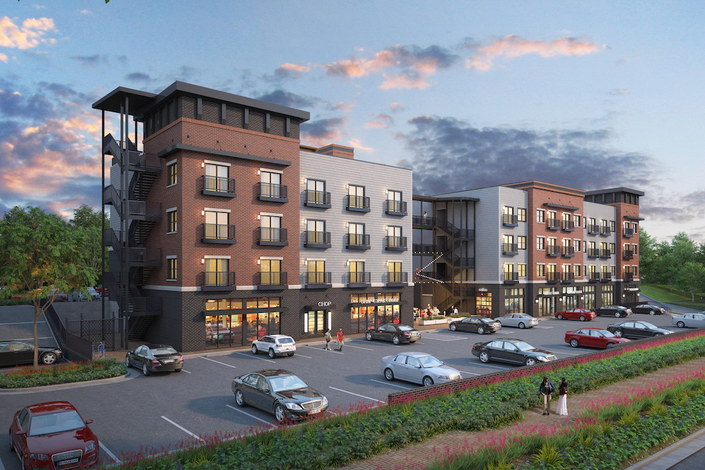 Galloway Creek Development Group LLC plans to break ground this week on a 46,372-square-foot mixed-use project in Galloway Village. The development includes the Jalili family's Chops restaurant.