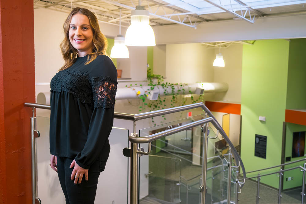 FAST TRACK: Rachel Anderson, an entrepreneurial specialist at The eFactory, is preparing to launch the next Business Accelerator program with updates to enhance networking.