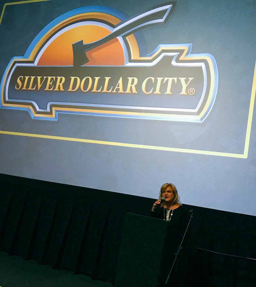 Lisa Rau, director of publicity and public relations for Herschend Family Entertainment Corp. and Silver Dollar City Attractions