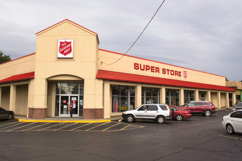The Salvation Army's Springfield chapter consolidates all thrift store operations into its center at Campbell Avenue and Sunshine Street.
