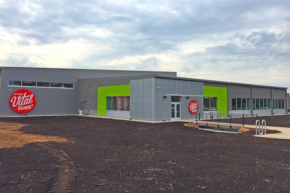 Vital Farms plans an Oct. 18 ribbon-cutting ceremony in Partnership Industrial Center West. The company's entrance to the market is among the top moves in Xceligent's quarterly Market Trends report.