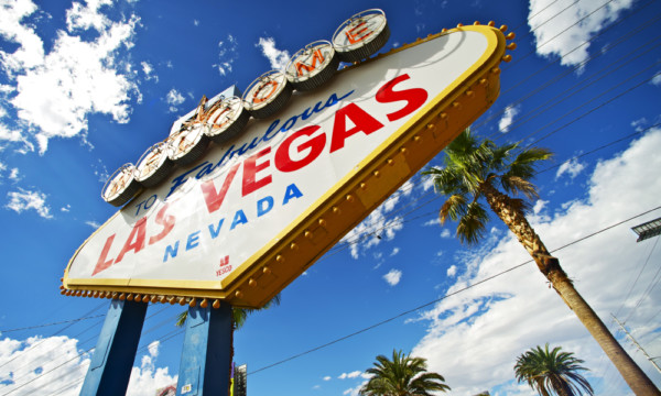 "The Las Vegas restaurant will be about a mile away from the famed ""Welcome to Fabulous Las Vegas"" sign."