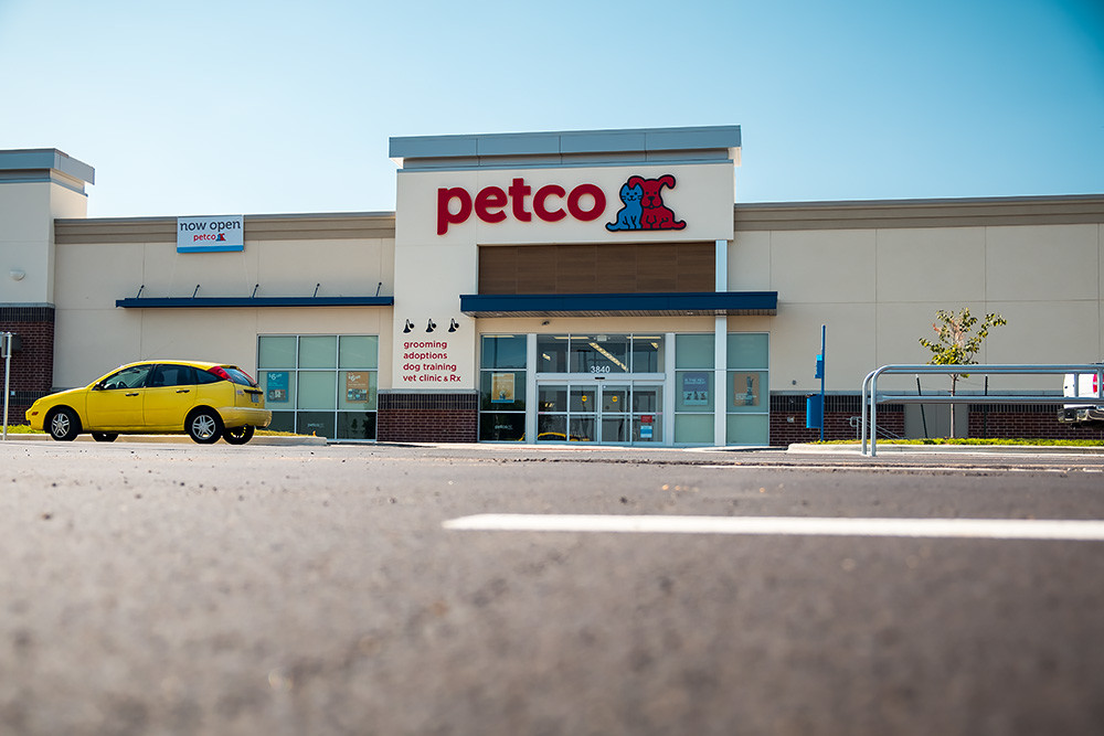Petco Animal Supplies Inc. is among tenants in the first phase of the development.
