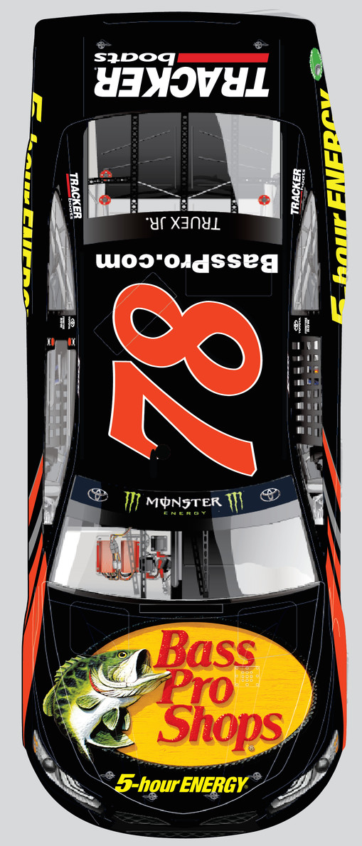 Bass Pro Shops' logo will be on Martin Truex Jr.'s hood for 16 of the 30 races next year in the NASCAR Monster Energy Cup Series.