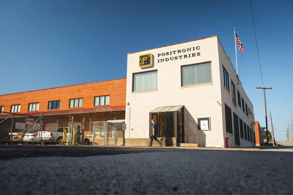 TRANSFER OPTION: The downtown Springfield office for Positronic Industries is expected to get an influx of workers transferred from the Mount Vernon plant.