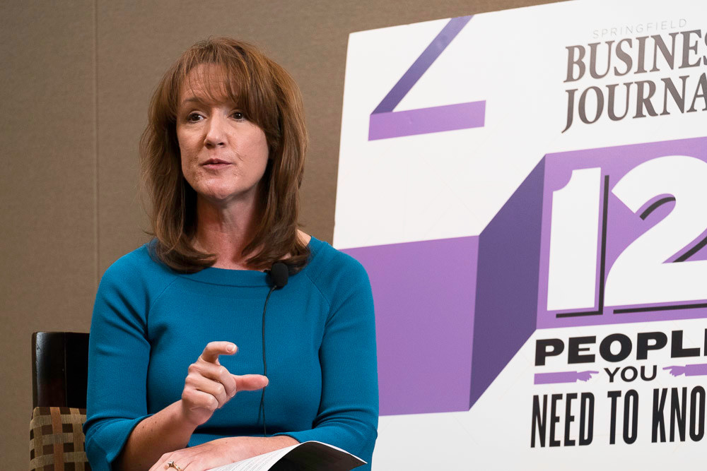 Enactus Chief Financial Officer Christine Rader speaks about working with a new CEO at the nonprofit during SBJ's 12 People live interview series.