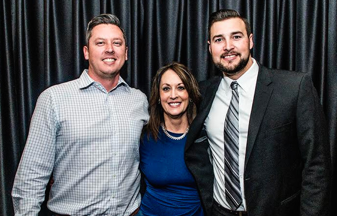 Michelle Cantrell and her sons Brent, left, and Blake switch to Murney Associates, Realtors. They've produced $54 million in sales volume this year.
