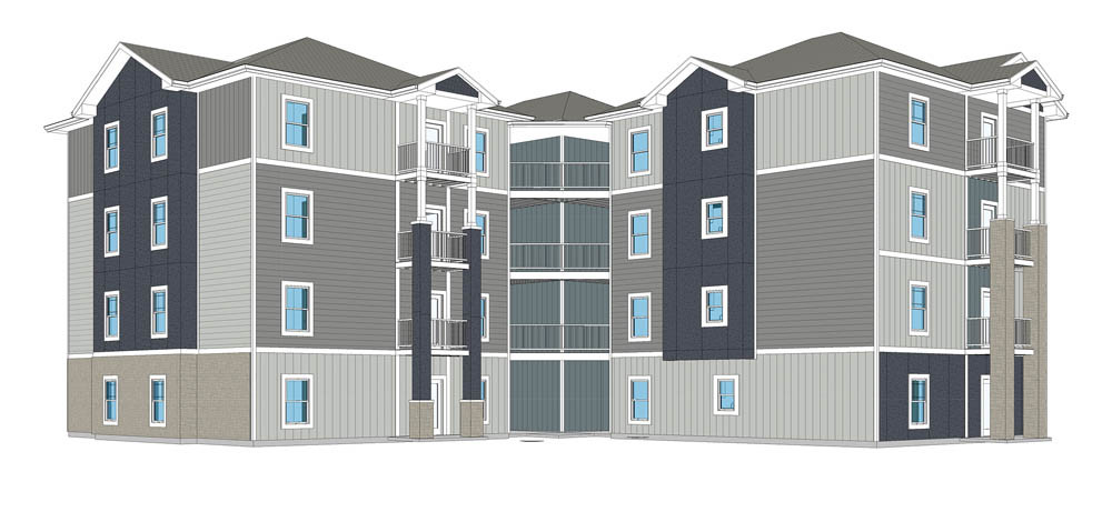 PUSHED BACK: Roza Homes' proposal for a 17-unit building is on hold after council approved an administrative delay.