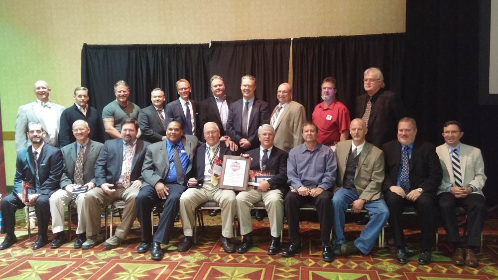 An Oct. 16 Missouri Sports Hall of Fame ceremony honors Greenwood Laboratory's 1981 state champion football team, 